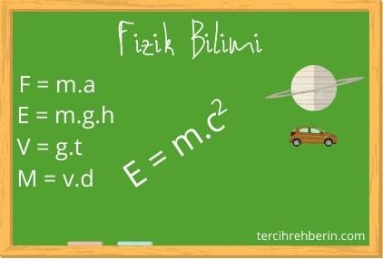 Fizik bilimi deyince ne anlıyorsunuz