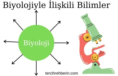 Biyolojinin ilişkili olduğu bilim dalları