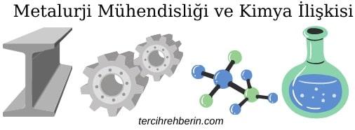 Metalurji mühendisliği kimya ile ilgili midir