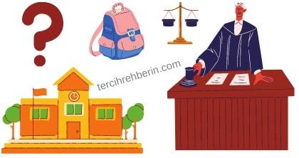 Hakim olmak için hangi liseye gidilir