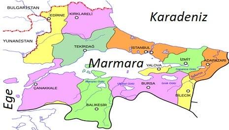 Marmara bölgesinin ekonomik faaliyetleri
