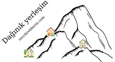 Türkiye'de dağınık yerleşmeler